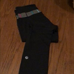 Lululemon leggings! Black